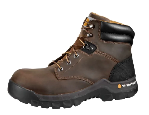 Carhartt Boots Rugged Flex Men's CMF 6066 6-inch Brown Work Boot