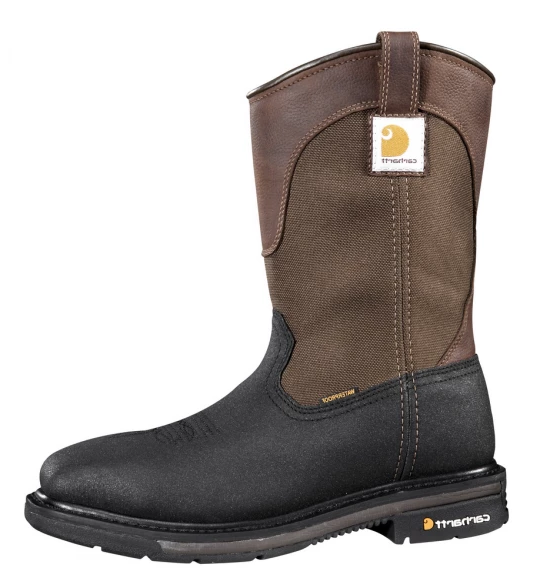Carhartt Rugged Flex Sq Toe Waterproof Wellington Steel Toe CMP1258 Men's 11""