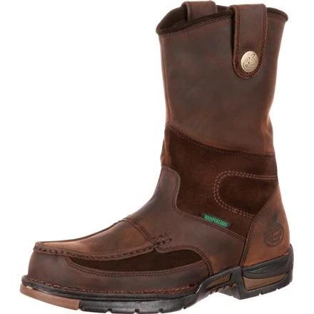 GEORGIA ATHENS WATERPROOF WELLINGTON WORK BOOT MENS G4403 (FREE SHIPPING)