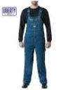 Liberty Stonewashed and Dark Denim Authentic Liberty Overalls