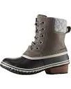 Sorel Women's Slimpack II Lace Quarry Duck Boot Black