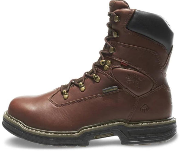 "WOLVERINE MEN'S BUCCANEER STEEL-TOE EH WATERPROOF 8"" WORK BOOT W04822 (FREE SHIPPING)"