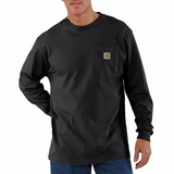 Carhartt K126 Long Sleeve T-Shirt, Black