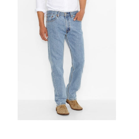 Levi's 505 Regular Fit Jeans 5054834 Light Stone Wash
