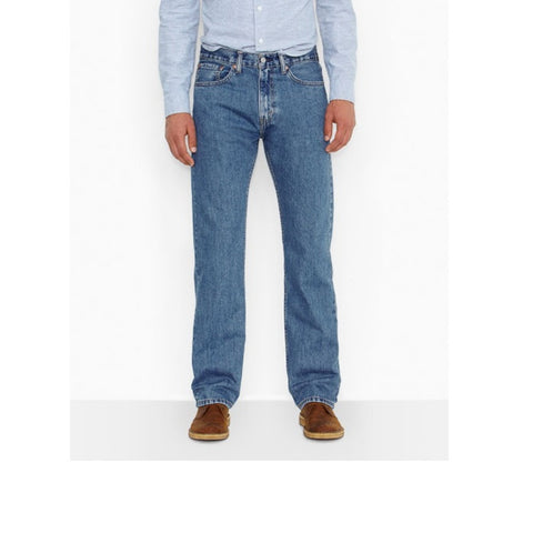 Levi's 550 Relaxed Fit Jeans Medium Stone Wash 5054891
