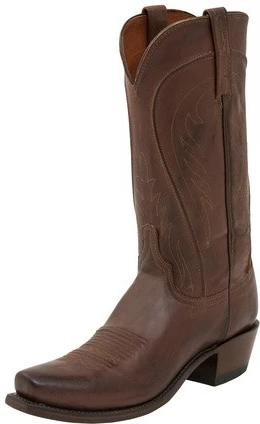 LUCCHESE MEN'S N1596 - BART WESTERN BOOT (FREE SHIPPING)
