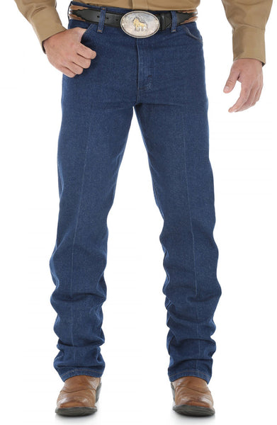 Wrangler 13MWZ Wrangler® Cowboy Cut® Original Fit Jean 28 and 29 Inch Waist Pre Washed Dark