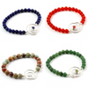 Stretch bracelets collection by Invincible Art jewelry