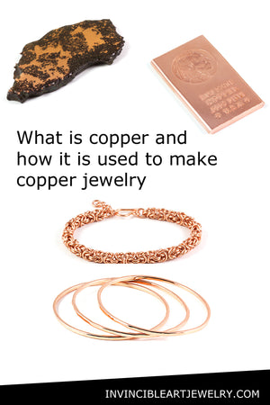 What is copper and how it used to make jewelry