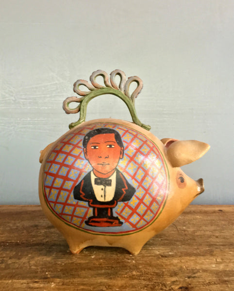 1970's Michoacan Piggy Bank