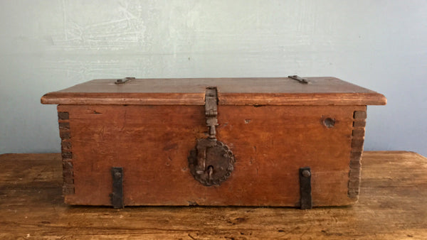 18th Century Mexican Document Box