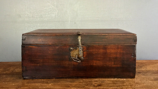 19th Century Mexican Document Box