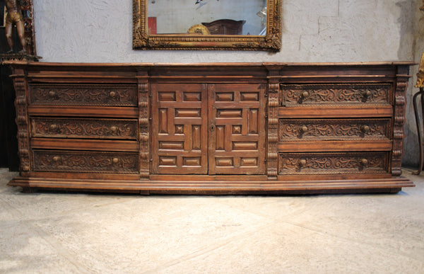 Spanish Colonial Sideboard from Lima Peru