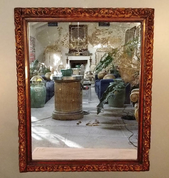 Spanish Colonial Mirror from Peru