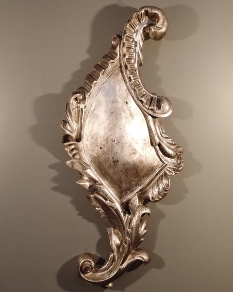 Mexican Silver Leaf Sconce