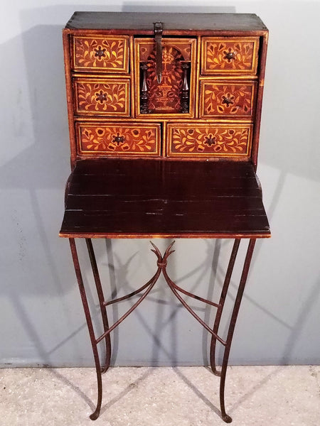 Bargueno. Traveling Desk from Peru