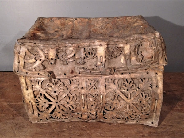 Petacas. Carriage Trunks from 18th c. Peru
