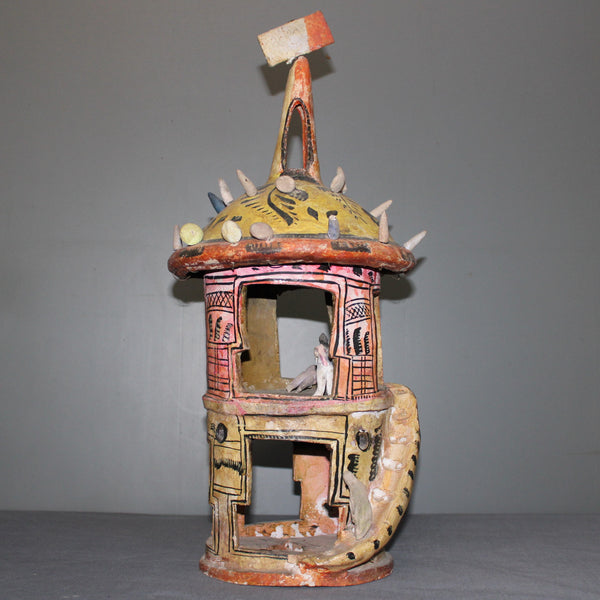 Artisanal Fantasy Tower from Jalisco, Mexico