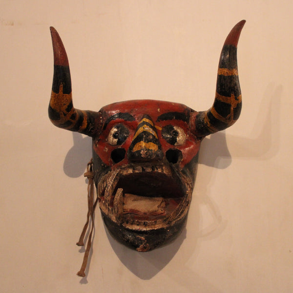 Pastorela Diablo Mask from Mexico