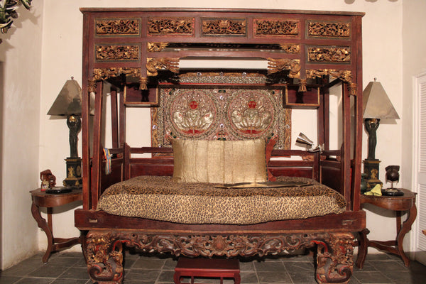 Chinese Opium Bed found in Indonesia
