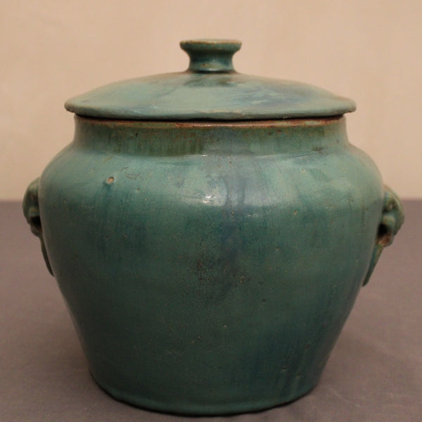 Celadon Philippine Jar with Lid