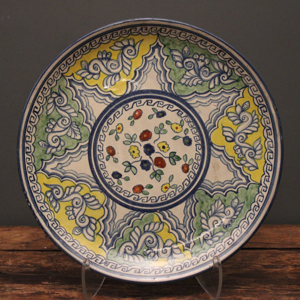 Talavera Plate from Mexico