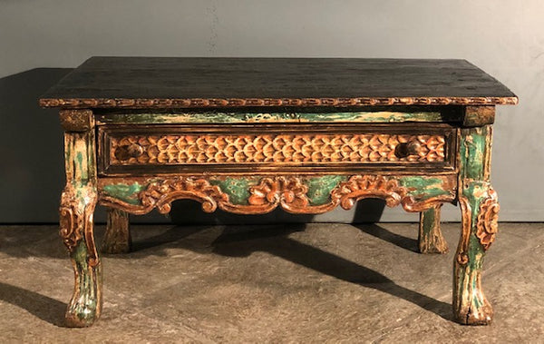 Spanish Colonial Tea Table from the Andean Region of Peru
