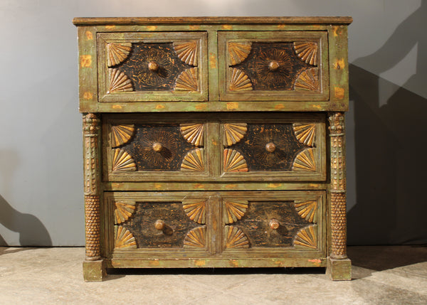 Peruvian Chest with Drawers
