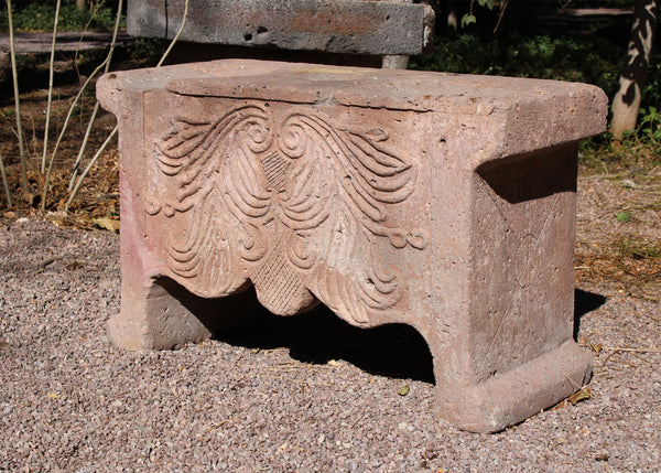 "Cantera Stone ""Aguadero"" for holding Clay water Jars"