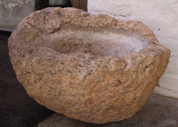 Stone Container from Yucatan, Mexico