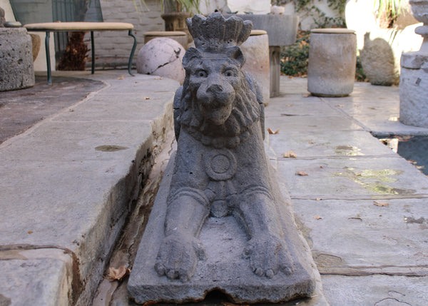 Large Stone Lion From Mexico