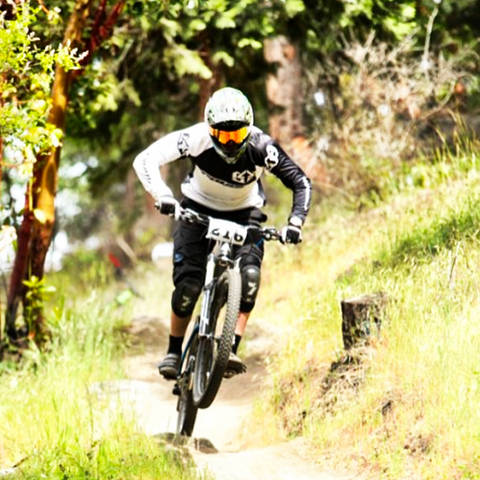 Brad Powell pro mountain biker