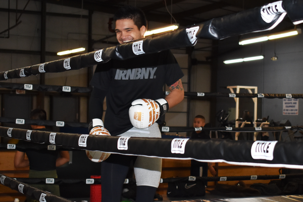Lopez in Ring Training