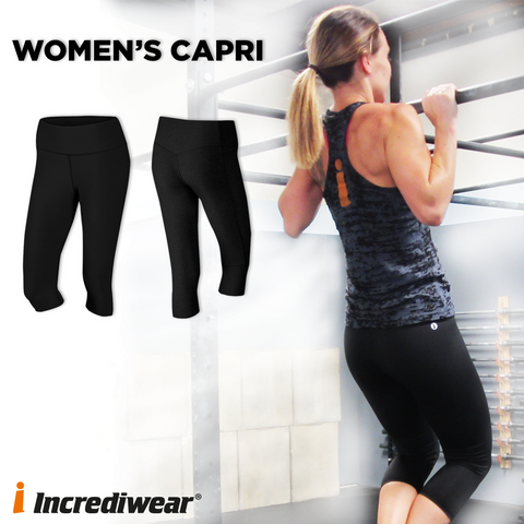 Incrediwear Women's Capri