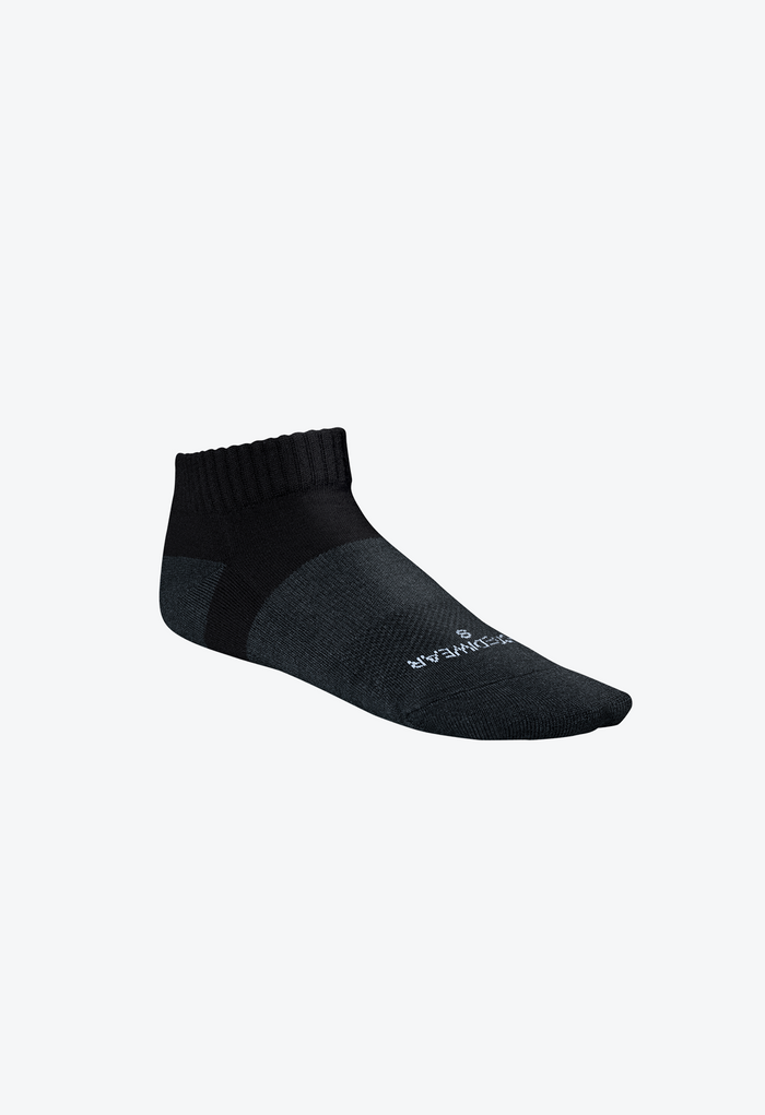 Incrediwear Active Socks - Black - Low Cut