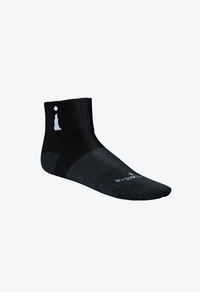Incrediwear Active Socks - Black - Quarter