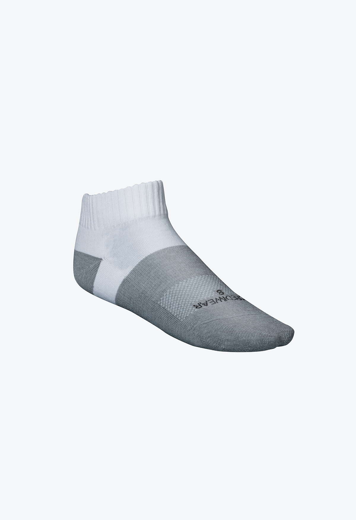 Incrediwear Active Socks - White - Low Cut