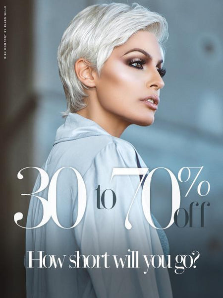 Our Best Short Wigs! Now On SALE 30% - 70% OFF