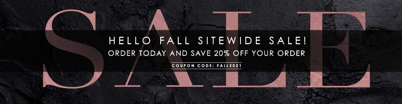Save 20% Sitewide