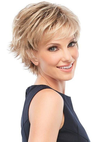 Short Blonde Pixie Wig by Jon Renau