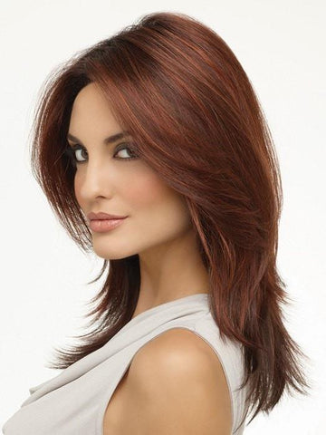 Layered Brown Wig by Envy Wigs