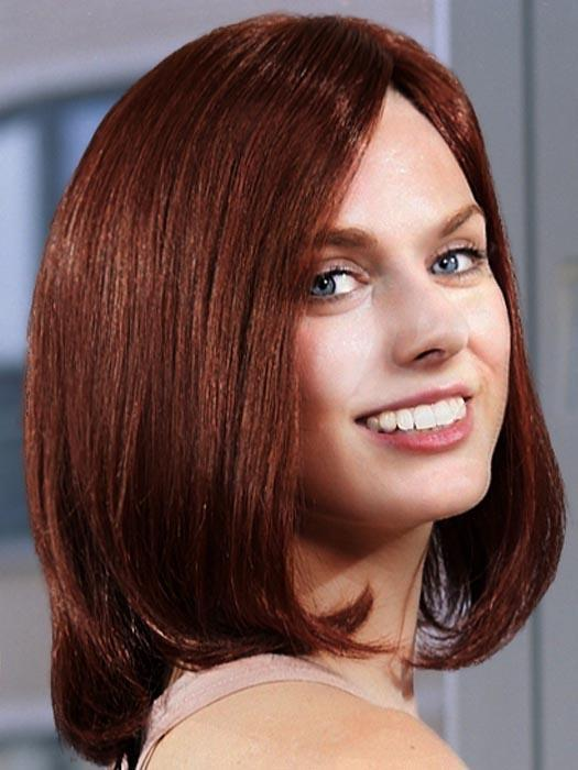 Platinum 108 by LOUIS FERRE in BURGUNDY ROSA | Dark Auburn with Dark Red Highlights