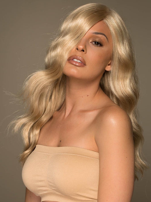 MAYA by ENVY in MEDIUM BLONDE | Soft Golden Blonde with Champagne Blonde highlights