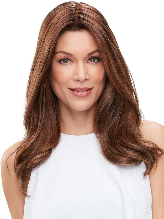 "EASIPART FRENCH XL 18"" Remy Human Hair by EASIHAIR in FS6/30/27 TOFFEE TRUFFLE 