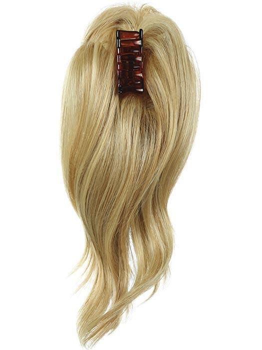 "The 12"" Simply Wavy Claw Clip-On Pony is a lifesaver that completes a casual or elegant look"