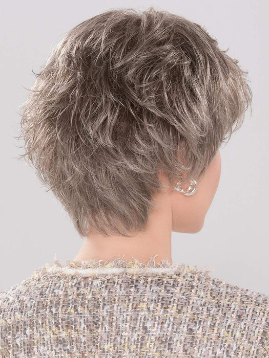This short style has lots of layers that delicately graduate down the nape area, giving you a perfect balance of coverage and style