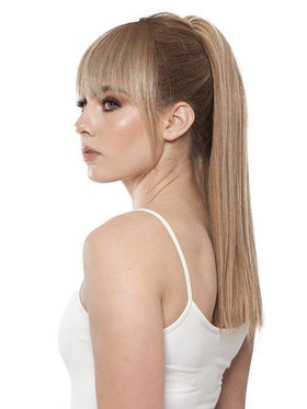 PONY SWING H by WIG PRO in SWEDISH-ALMOND | Honey Blonde Blended with Medium Blonde