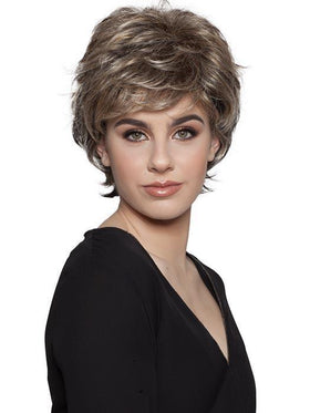 FELICITY by WIG PRO in SUMMER-FEVER Medium Golden Blonde with Dark Brown roots