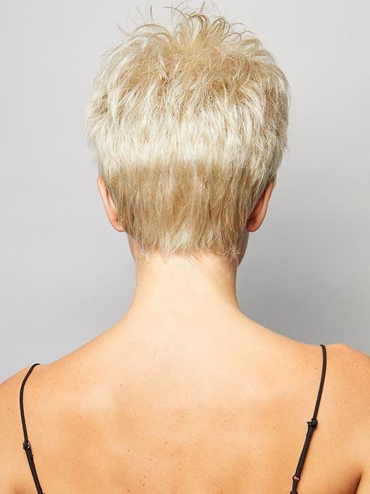 Short, feathered style which you can finger style to have more height and volume or sleek down if you are going for a more sophisticated look.