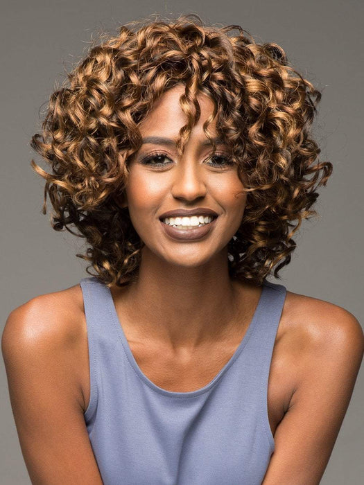 OPRAH-2 by VIVICA FOX in P4/27/30 | Piano Color. Medium Dark Brown, Honey Blonde, and Copper Blonde